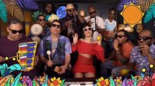 Camila Cabello sings fun version of 'Havana' with Jimmy Fallon and the Roots