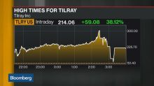Tilray Wild Session Ends Higher After Wiping Out 94% Gain