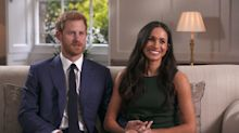 El príncipe Harry y Meghan Markle y otras parejas famosas que se conocieron en una cita a ciegas