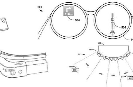 Google glasses gets raft of new patents, sniffs lawsuits coming from miles away