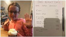 Dad Writes Daughter With Autism A New School Report After Her Grades Leave Her In Tears