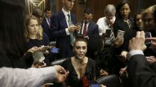 Alyssa Milano is being shamed for her 'revealing' top at the Kavanaugh hearings