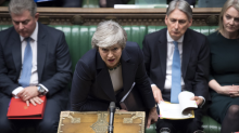 MPs vote to delay Brexit after May's failure to win support for her deal