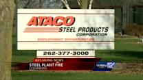 Fire hits Ataco Steel in Cedarburg
