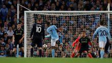 Sterling stunner for City cancels out Rooney opener