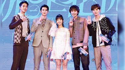 "The new ""Meteor Garden"" unveils cast and characters"