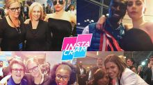 Instacram: Celebs Ready to Celebrate With Hillary Clinton Before Things Took a Turn