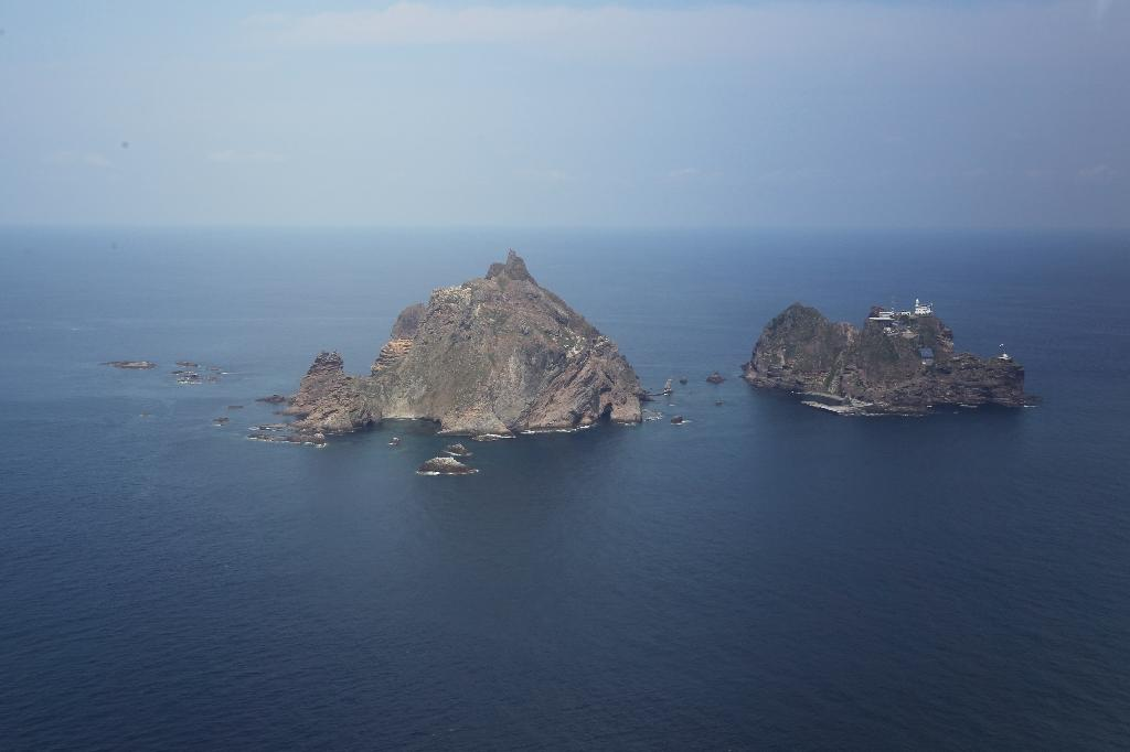 The Dokdo islands -- known as Takeshima in Japan -- are claimed by both Seoul and Tokyo
