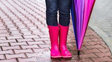 12 pairs of rain boots under $100 to keep your feet cool and dry this summer