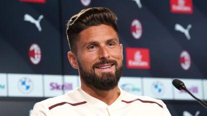 "Milan, Giroud si presenta: ""Dio mi ha portato al Milan. Io e Ibra complementari"""