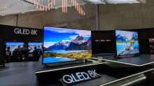 Forget 4K TVs — 8K televisions are already here