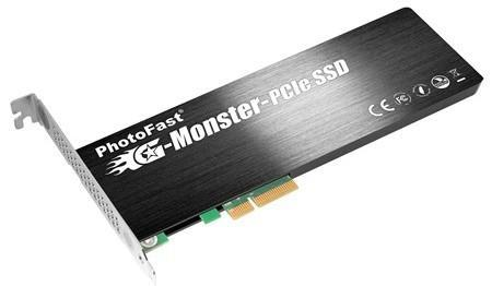 PhotoFast intros 256GB to 1TB G-Monster PCIe SSD