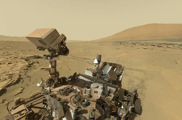 Visualized: Curiosity rover takes us back to the surface of Mars