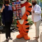 Tony the Tiger Helps Kellogg Kick-Off Cereal Donation Program For Ronald McDonald House Charities