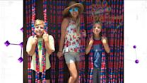 Britney Spears Recreates 'Oops! ... I Did It Again' Cover With Sons at Disneyland