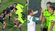 'Incompetent officials' slammed over 'ridiculous' red card