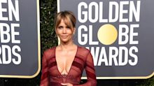 Halle Berry, 52, turns heads on Golden Globes red carpet - 'She is hot as hell'