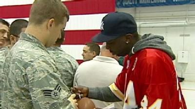 Chiefs Salute Troops In Whiteman Visit