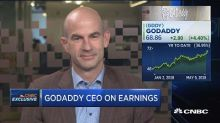 GoDaddy CEO: Continuing adoption and evolution of online ...