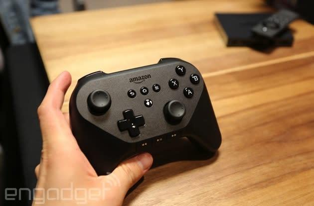 Using Amazon's Fire TV gamepad (surprise: it's pretty good!)