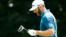 Top-ranked Dustin Johnson withdraws from AT&T Byron Nelson with knee injury