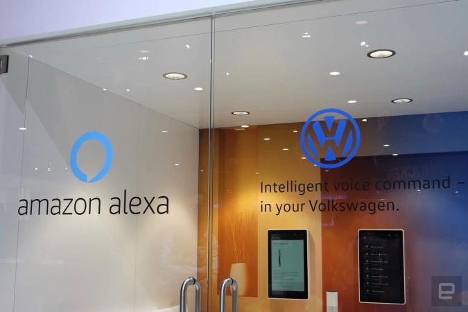 VW bringt Alexa in ihre Autos