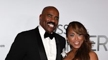 Steve Harvey defends wife after fans criticize her use of 'retarded'