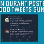 Kevin Durant's Twitter Snafu Blasts Thunder in Third Person