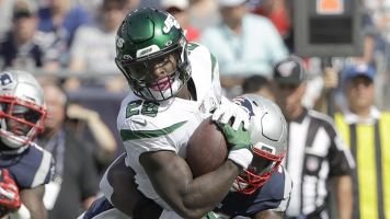 Le'Veon is getting his first taste of life as a Jet