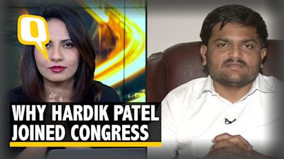 Watch: Why Did Hardik Patel Join Congress?