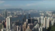 Banks in Hong Kong nervously eye US sanctions