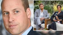 Prince William 'livid' over Harry and Meghan's bombshell claims