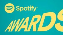 Spotify announces its first-ever music awards show