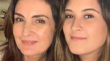 Fátima Bernardes aponta semelhança com filha e famosos confirmam: 'Iguais'