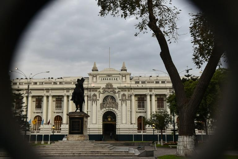 The Congress building in Lima, where President Martin Vizcarra faces an impeachment vote on September 18