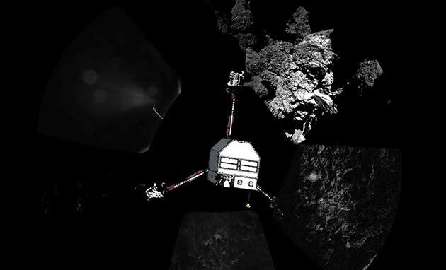 Philae comet lander may wake up as early as this week
