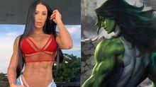 Fãs pedem Gracyanne como 'Mulher-Hulk' e musa responde: 'Adoraria'