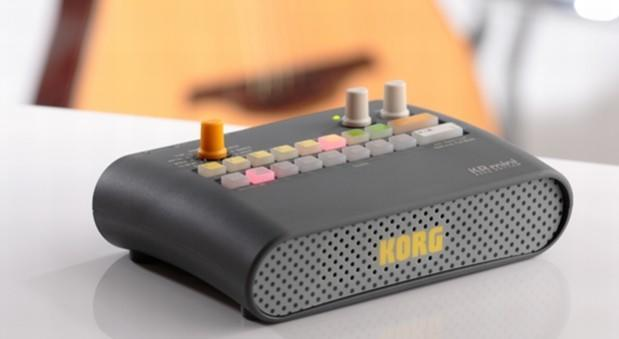 Korg's KR Mini rhythm controller puts a backing band in your gig bag (video)