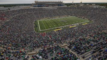 Notre Dame Stadium to host first soccer game