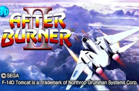 After Burner 2 leads Sega's second set of 3DS classics next year
