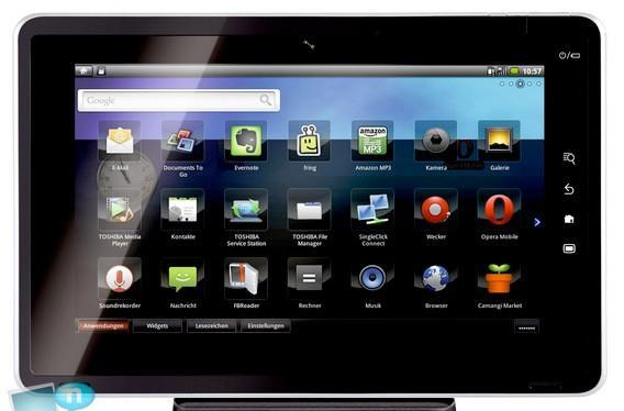Toshiba's Tegra 2-powered Android Smart Pad to be called Folio 100?