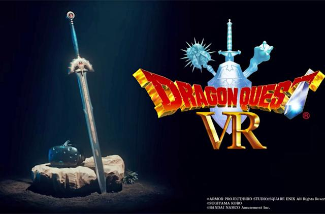 'Dragon Quest VR' brings giant virtual slimes to Japan's arcades
