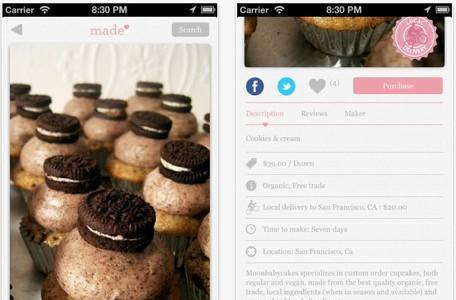 Daily iPhone App: Made brings scrumptous sweets right to your front door