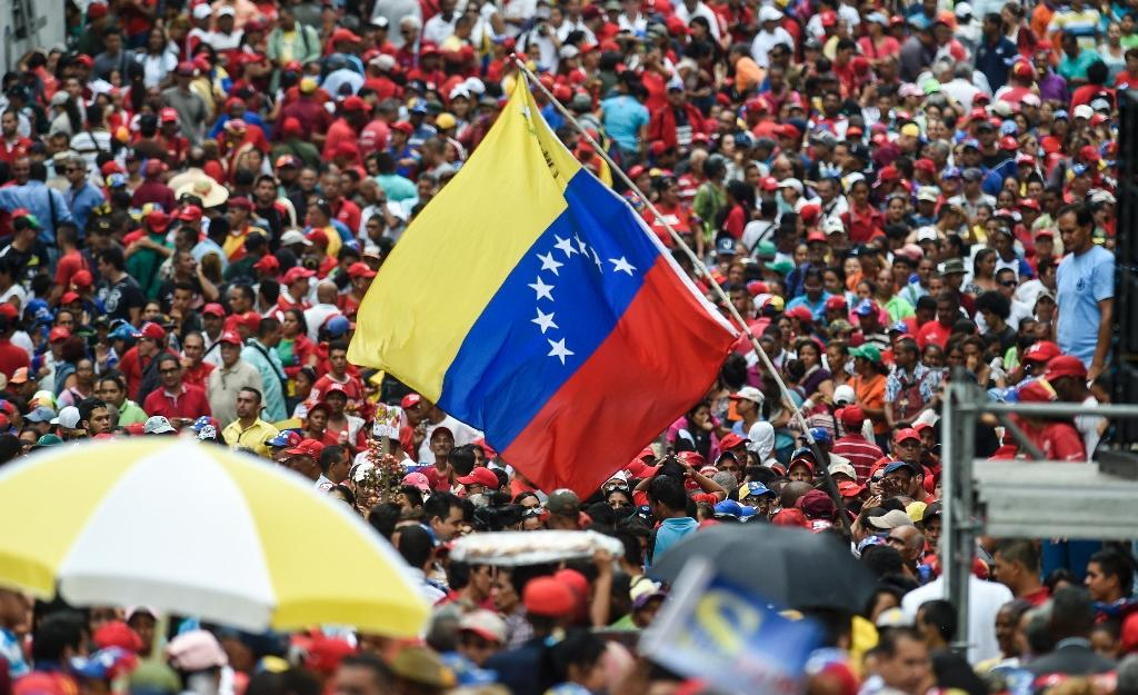 Mass street protests erupted in Venezuela after authorities last month blocked the opposition's bid to hold a referendum on removing Socialist President Nicolas Maduro from office (AFP Photo/Juan Barreto)