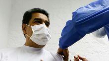 Venezuelas Staatschef Maduro mit Sputnik V geimpft