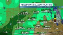 Huge snow dump coming to the Sask. this weekend