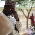 Nigerian families await news of 300 kidnapped schoolgirls