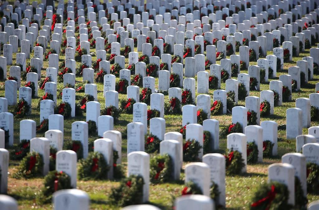 Arlington National Cemetery in Virginia