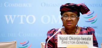 Jefa de la OMC presenta una acción mundial para aumentar el acceso a las vacunas