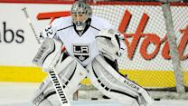 Jonathan Quick rolls into series against Ducks